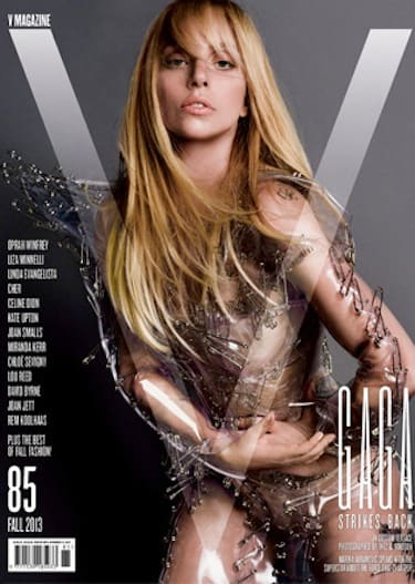 Lady Gaga V Magazine Cover Photo