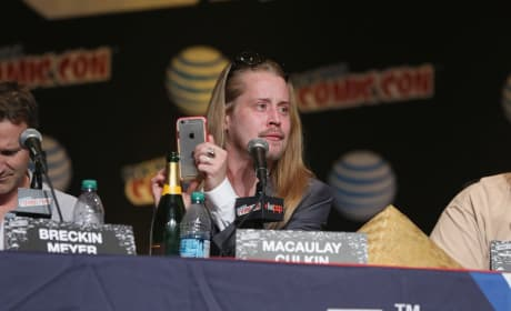 Macaulay Culkin Adult Swim Panel Pic