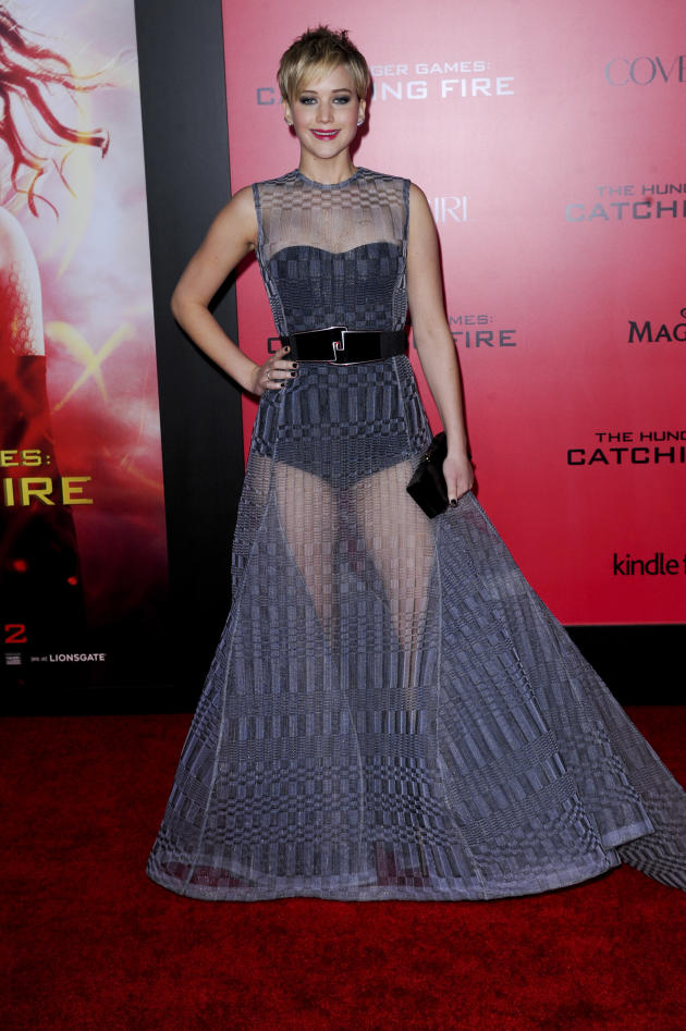 Jennifer Lawrence at Los Angeles Premiere