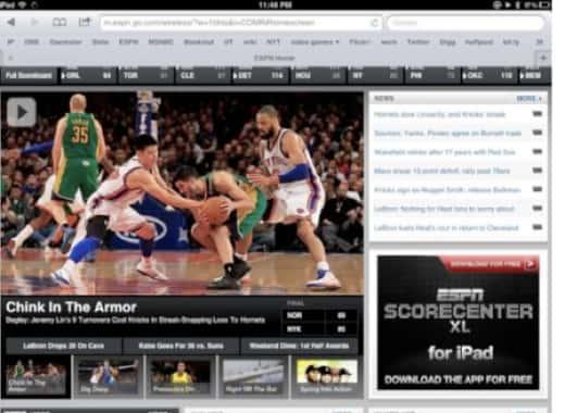 ESPN Headline