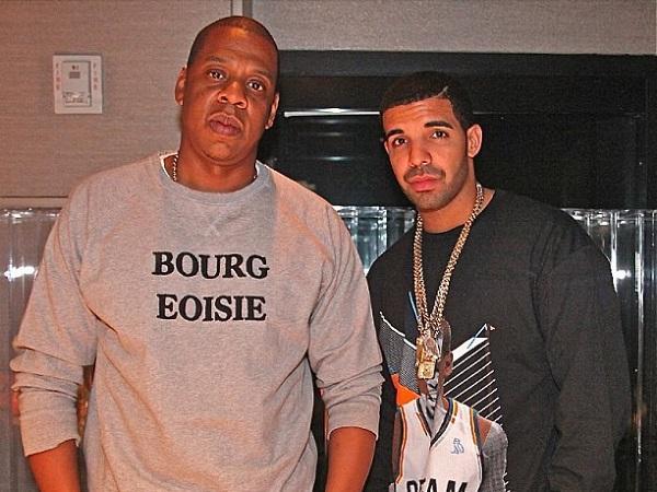 Drake and Jay-Z Photo