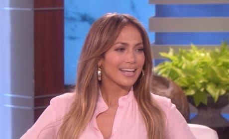 Jennifer Lopez Laughs