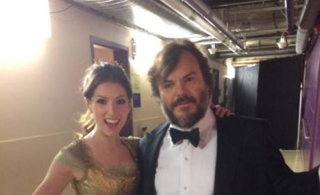 Anna Kendrick and Jack Black