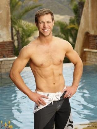 Shirtless Jake Pavelka