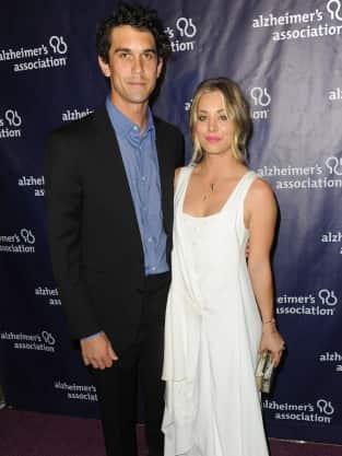 Kaley Cuoco and Husband