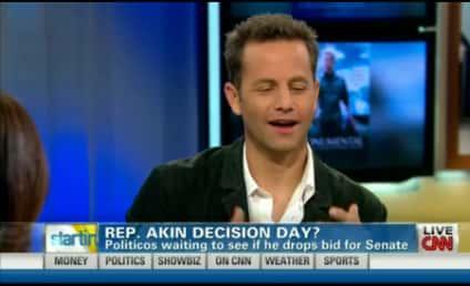 Kirk Cameron on Todd Akin: I Respect Him!