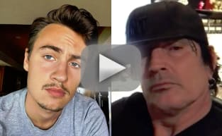Brandon Lee Shames Tommy Lee on Father's Day With Humiliating Video!