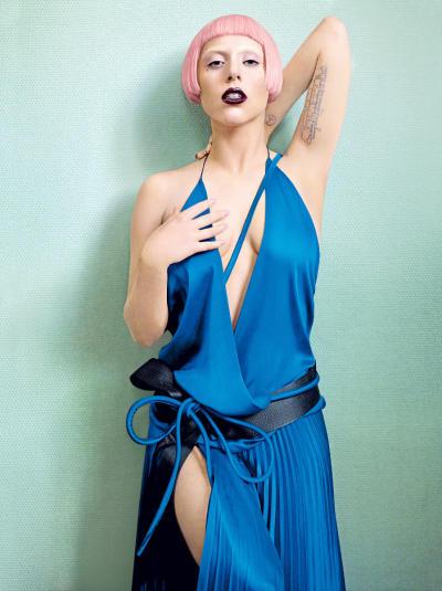 Pink Wig in Vogue