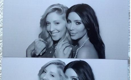 Kim Kardashian and a Friend