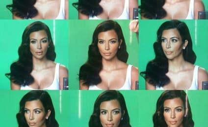 """Kim Kardashian Mocks Her """"Many Moods"""" on Instagram"""