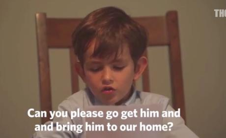 Boy Asks Obama If He Can Adopt Syrian Child in Touching Video