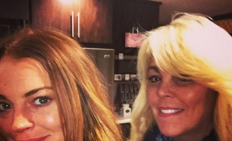 Dina Lohan Shares an Instagram Of Herself With Daughter, Lindsay