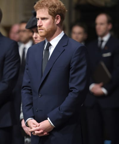 Prince Harry Rocks a Suit