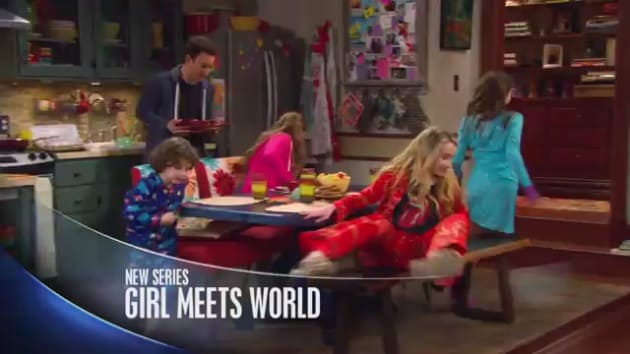 new girl meets world preview Riley's met some outrageous things, and you won't believe what she'll meet next all new episodes, all week long starting may 11 at 8:30p on disney channel.