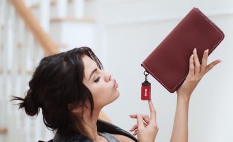Selena Gomez Promotes Coach
