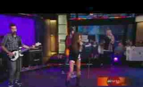 Ashley Tisdale Performs 'It's Alright, It's OK' on GMA