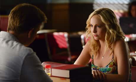 Caroline in a Diner