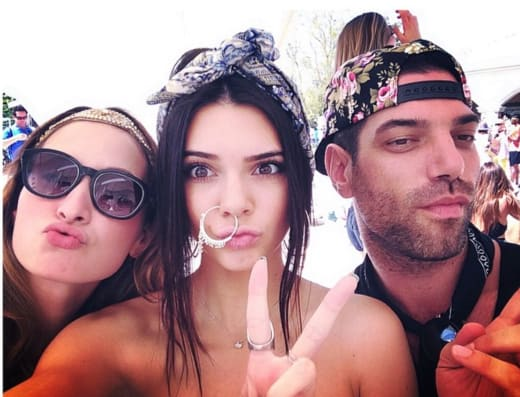 Kendall Jenner Nose Ring Photo