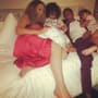 Mariah Carey and Nick Cannon Cuddling Twins