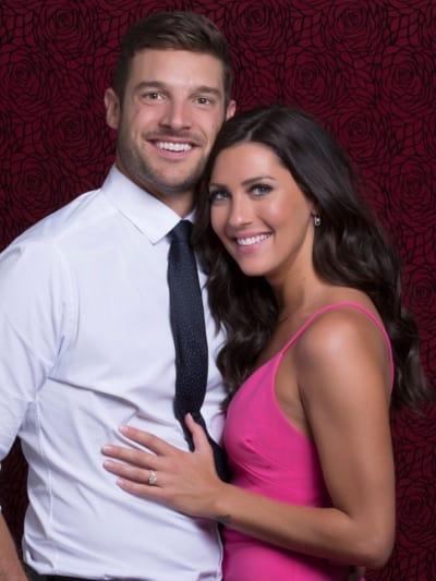 Becca Kufrin and Garrett Yrigoyen Engagement Pic