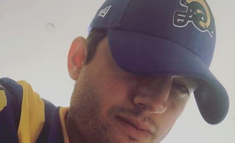 Ashton Kutcher Loves Sports