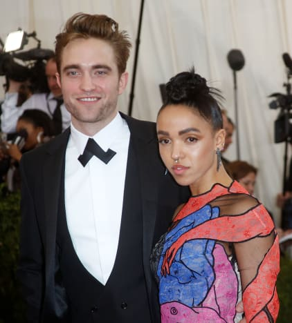 Robert Pattinson and FKA Twigs at MET Gala