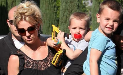 Britney Spears, Kiddies Go to the Movies
