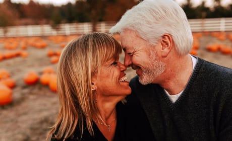 Amy Roloff and Chris Marek, Pumpkin Patch PDA