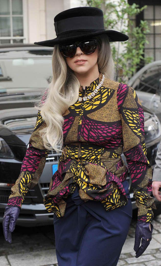 Lady Gaga, Black Hat