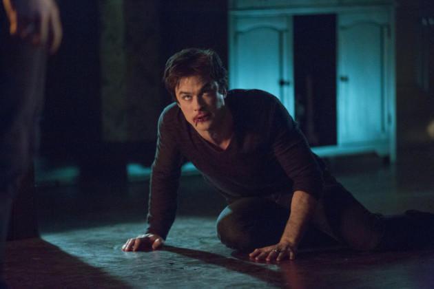 Down Goes Damon Salvatore