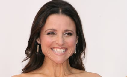 Julia Louis-Dreyfus: Nude, Covered by the Constitution on Rolling Stone!