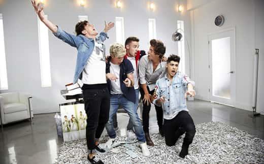 One Direction Video Still