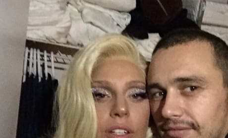 James Franco, Lady Gaga Photo