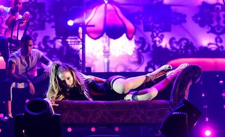 Jennifer Lopez in Singapore