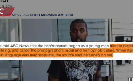 Kanye West Attacks Racist Loudmouth