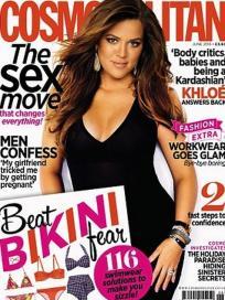 Khloe Kardashian Cosmo UK Cover