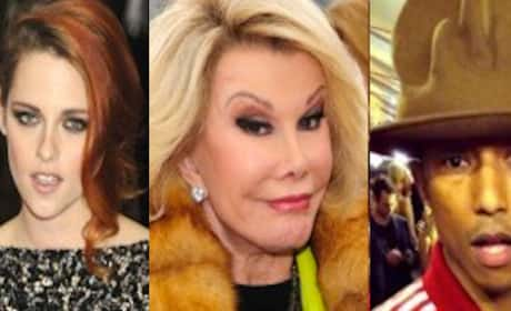 Joan Rivers: Kristen Stewart Sucks! Pharrell Too!