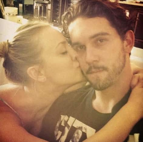 Ryan Sweeting, Kaley Cuoco Photo