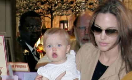 First Pic of Brad and Angelina's Baby!