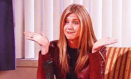 Jennifer Aniston Smiles Pitt Jolie Break-Up