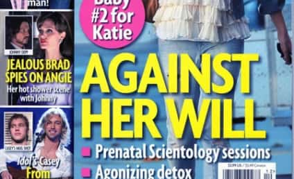 Katie Holmes: There is NO ESCAPE!