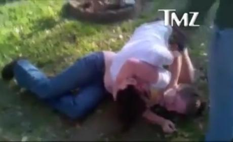 Jenelle Evans Beating Up Girl