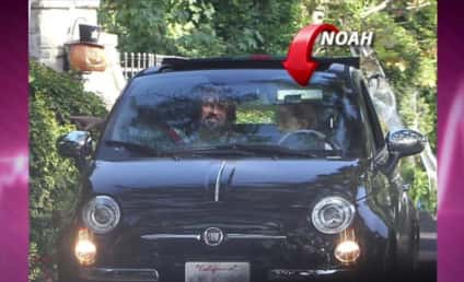 Noah Cyrus, 13, Spotted DRIVING Around California