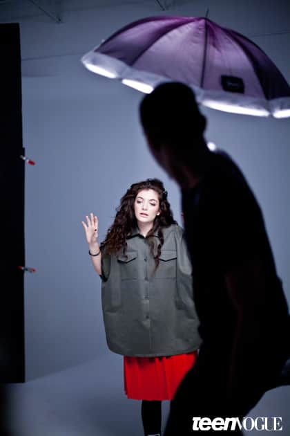 Lorde Teen Vogue Pic