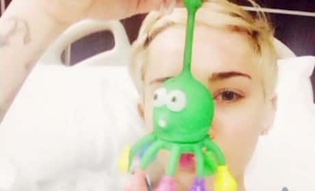 Miley Cyrus: Hospitalized!