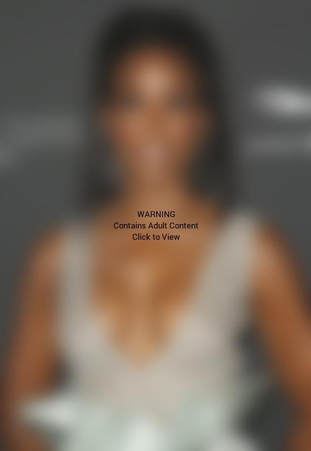 Kelly Rowland Cleavage Dress