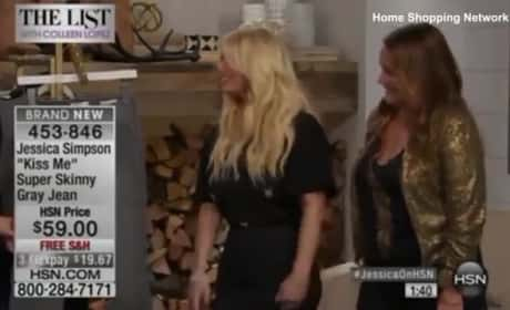 Jessica Simpson: Wasted on the Home Shopping Network?