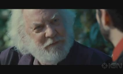 New Hunger Games Clip: Seneca & Snow