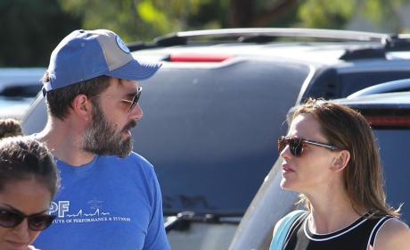 Ben Affleck and Jennifer Garner: Tense Times at Pacific Palisades Farmers Market