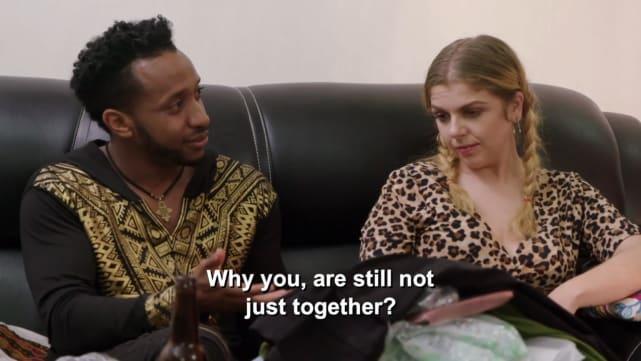 Biniyam asks why they aren't still together